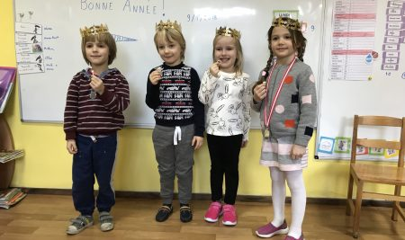 L'école maternelle fête la nouvelle année