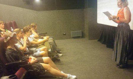 Les films des élèves sur grand écran!