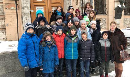 Visite au musée de l'écrivaine Lessia Oukrayinka