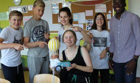 Concours de robotique de Francfort