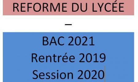 LE FRANÇAIS DANS LA REFORME DU LYCÉE A AdK
