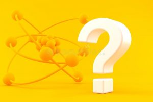 fond-de-la-science-avec-le-point-d-interrogation-dans-couleur-orange-illustration-143693561