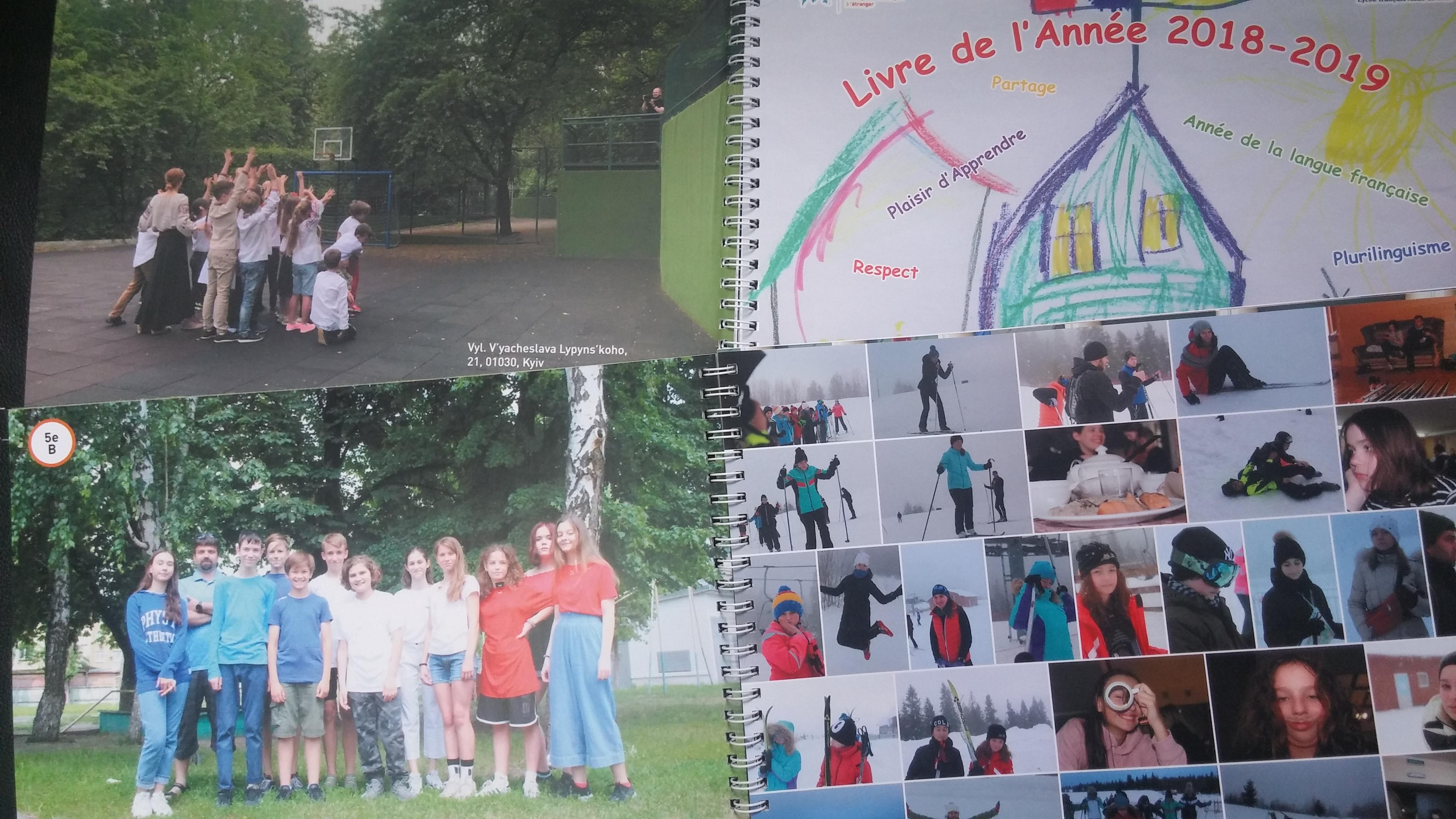 Fin D Annee Ateliers Et Livre De L Annee Lycee Francais