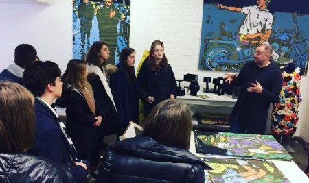 Visites de galeries d'art contemporain pour les 4èmes et les 3èmes